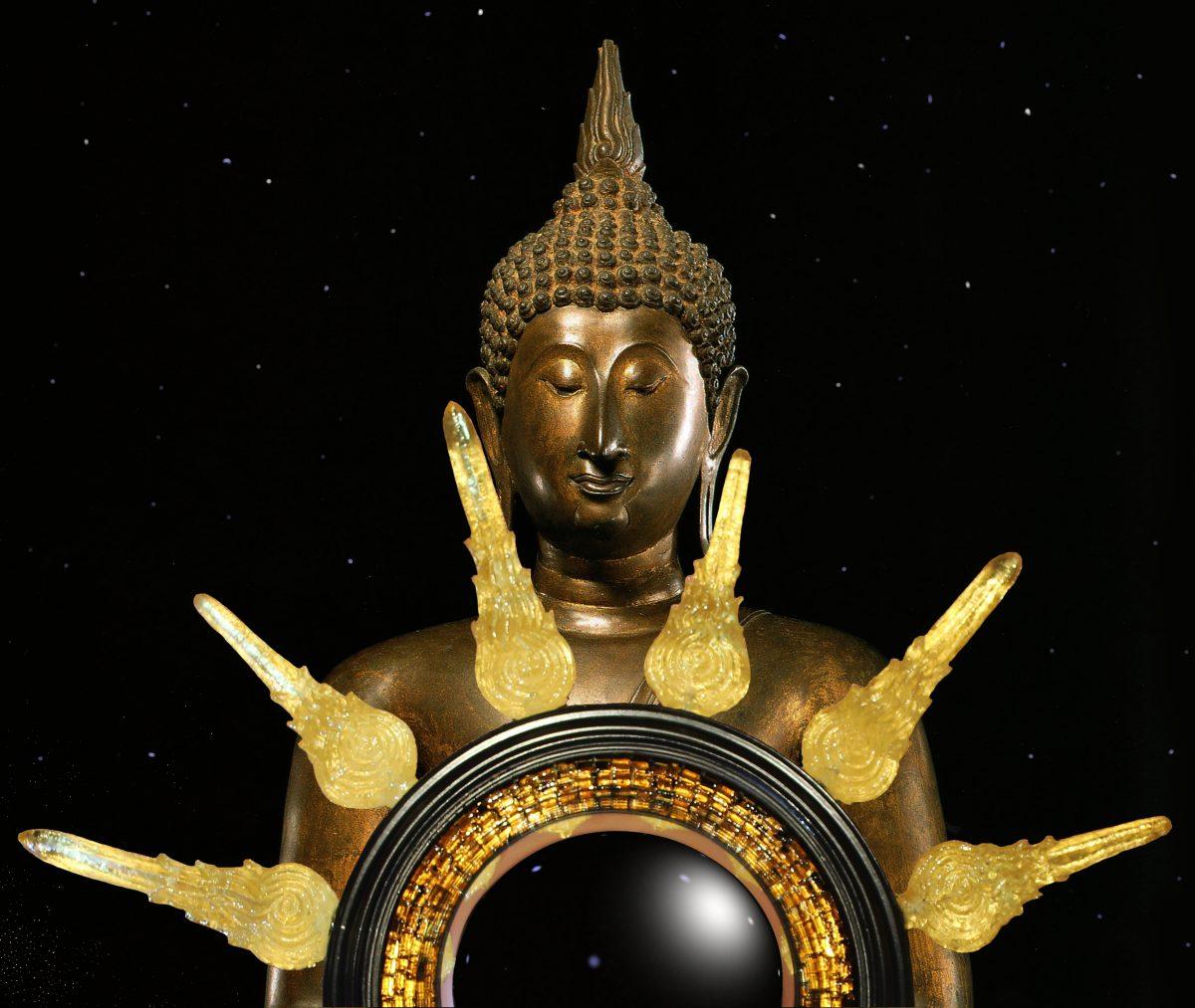 the Ushnisha Convex Mirror • The Art of Mark Evans